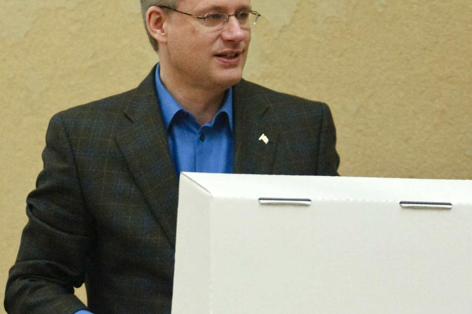 PM Harper voted, but many Canadians didn't.