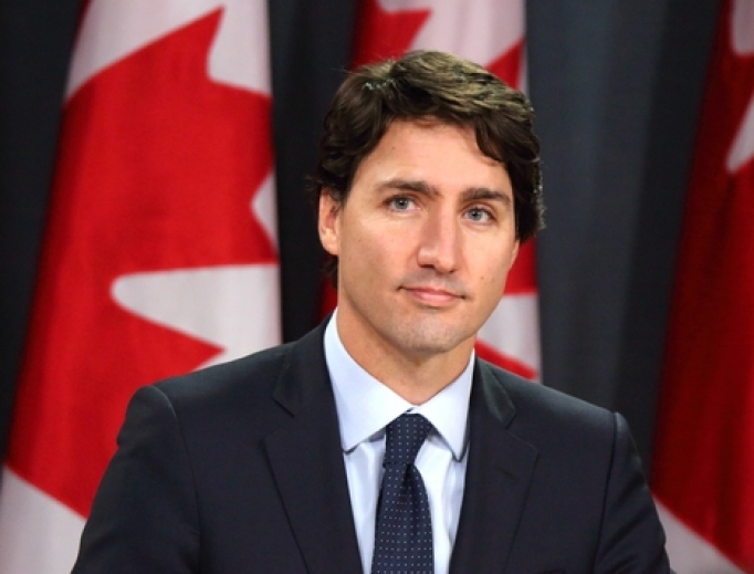 Prime Minister Justin Trudeau, 2016.