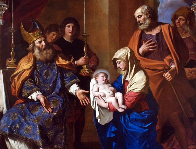 """Guercino (1591-1666), """"The Purification of the Virgin"""""""