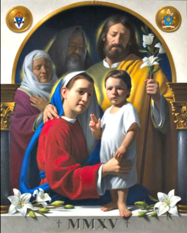 Official icon for the 2015 World Meeting of Families in Philadelphia