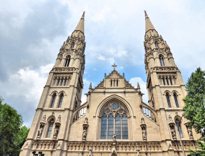 St. Paul's Catherdral, Pittsburgh. (