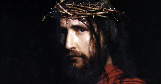 "Carl Heinrich Bloch (1834-1890), ""Christ With Thorns"""