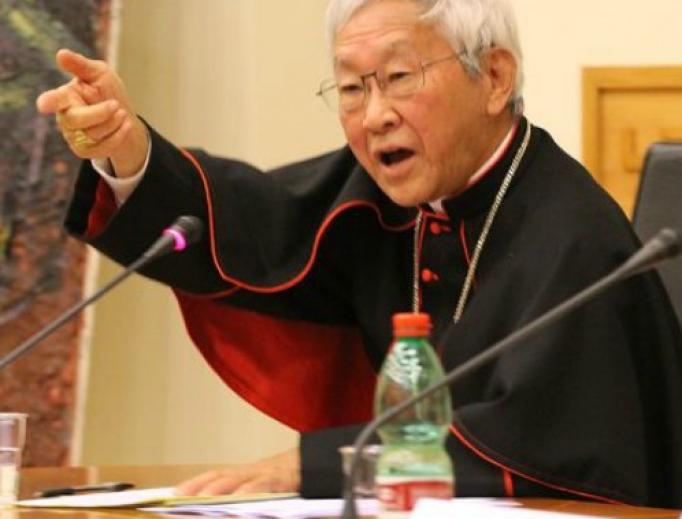 Cardinal Joseph Zen.