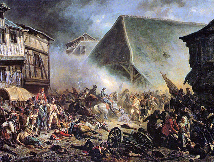The Catholic and Royal Army was routed by Republican troops during the 1793 War in the Vendée.