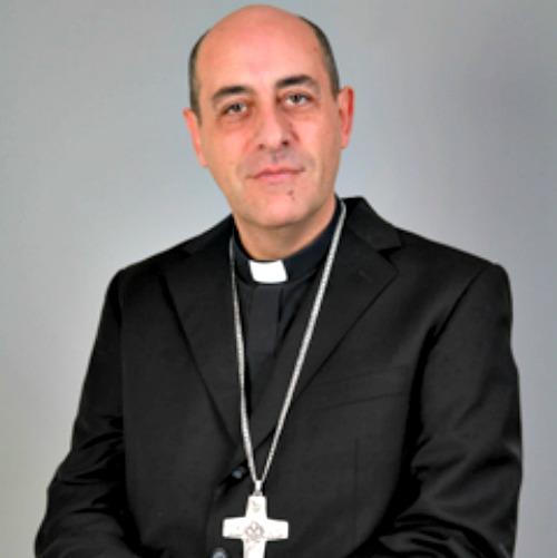 Archbishop Victor Manuel Fernández, rector of the Universidad Católica Argentina in Buenos Aires.