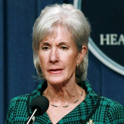 Kathleen Sebelius, secretary for the Department of Health and Human Services
