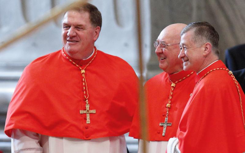 Cardinal Tobin, Far Left