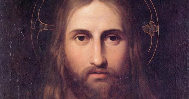 Giuseppe Craffonara, Bildnis Christi. Öl auf Leinwand, 64 x 50 cm (Trient, Museo Provinciale d'Arte)