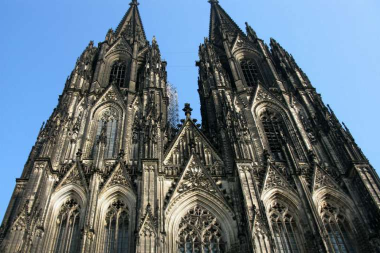 The Cathedral-Church of St. Peter in Cologne, Germany.