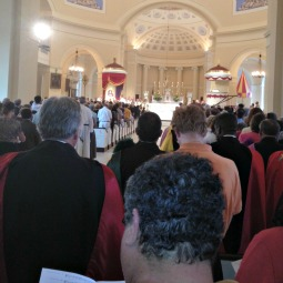 The Basilica of the National Shrine of the Assumption of the Blessed Virgin Mary in Baltimore was jammed with people for the opening Mass of the Fortnight for Freedom.