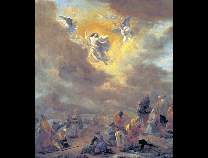 """Philips Wouwerman (1619–1668), """"The Ascension"""""""