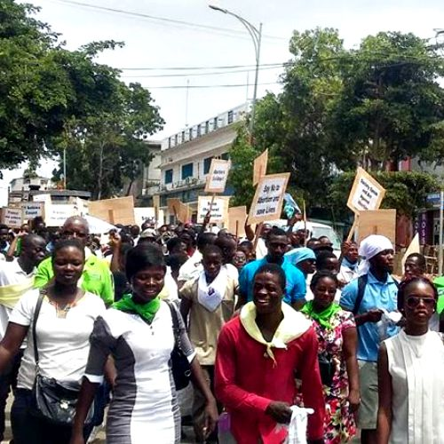 Pro-Life March in Accra