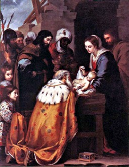 'Adoration of the Magi' by Bartolomé Esteban Murillo