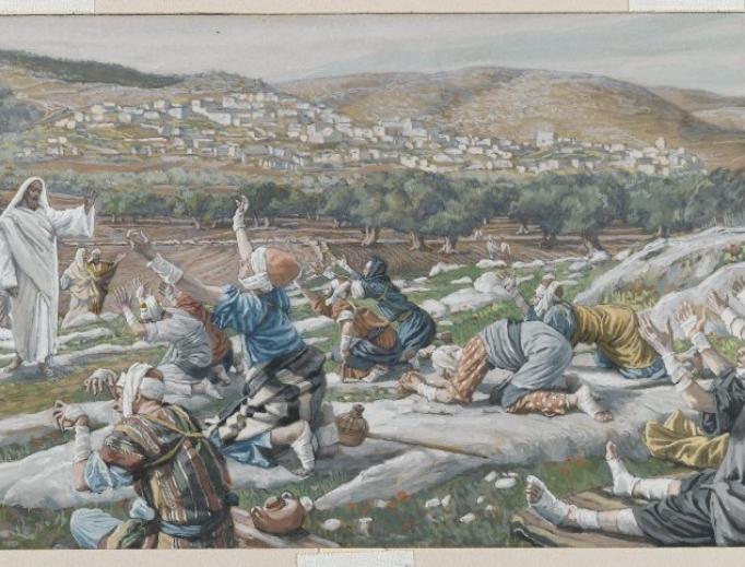 James Tissot, The Healing of Ten Lepers