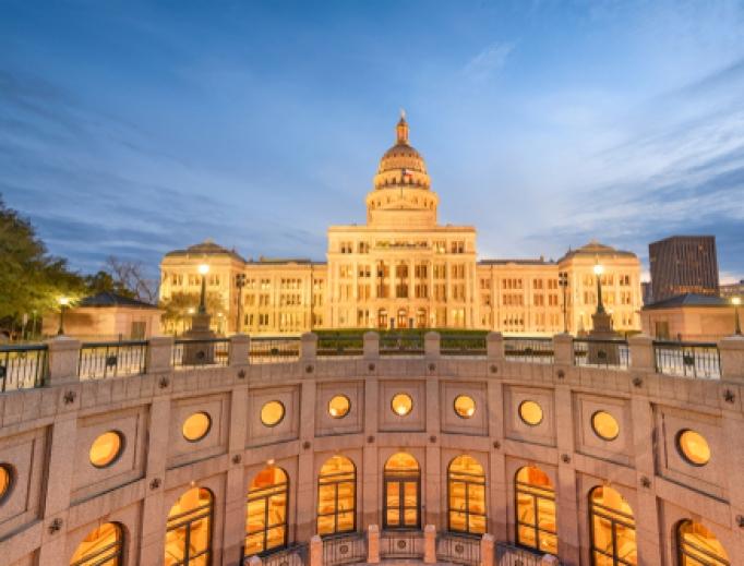Texas Statehouse in Austin.