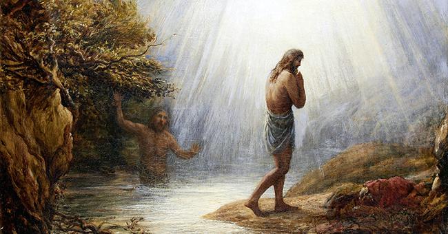 """John Linnell (1792-1882), """"Saint John the Baptist"""""""