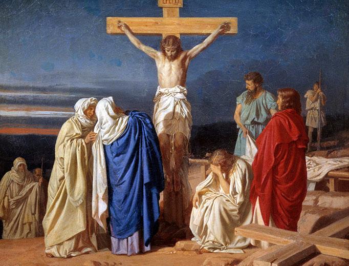 "Evgraf Semenovich Sorokin, ""Crucifixion,"" 1873"