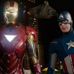 MARVELOUS MARVEL. Six heroes unite, including Iron Man and Captain America, to save the day in The Avengers.