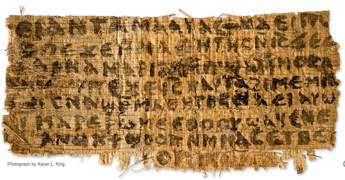 Does this piece of papyrus prove that Jesus had a wife?