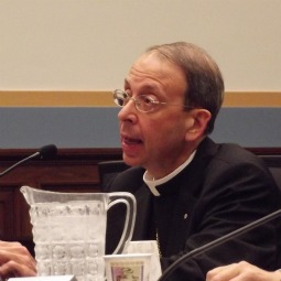 Bishop William Lori gives testimony about religious liberty before the Judiciary Subcommittee on the Constitution.