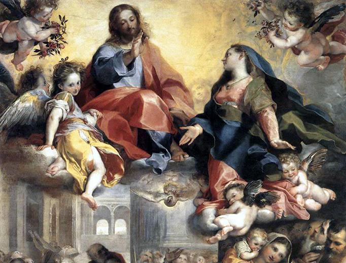 """Federico Barocci, """"Madonna del Popolo"""", 1579"""