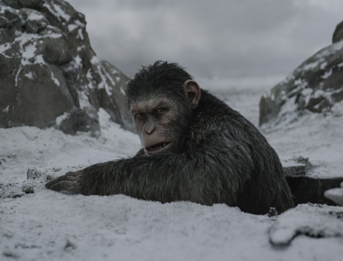 Andy Serkis is back as super-ape Caesar.