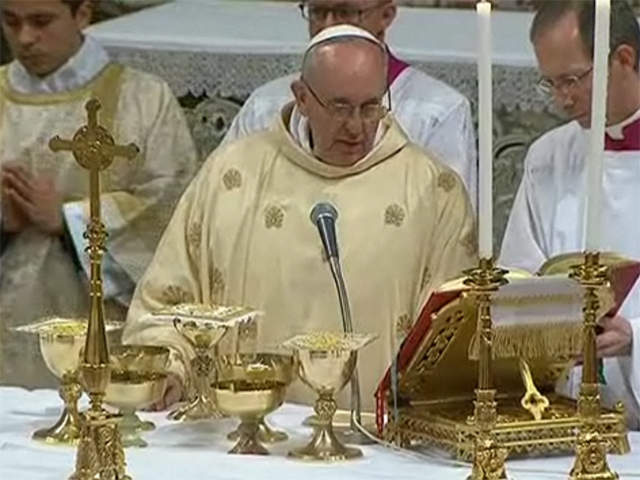 Should we be concerned about some of the aspects of Pope Francis's inaugural Mass?