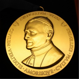 Richard Doerflinger, associate director of the Secretariat for Pro-Life Activities at the U.S. Conference of Catholic Bishops, received the inaugural medal and its accompanying $10,000 prize at an April 28 banquet at the University of Notre Dame for his 'remarkable contributions' to the pro-life cause.