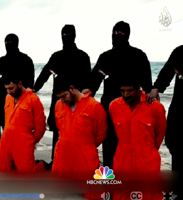 Video released by Islamic State militants in Libya recorded the beheadings of 21 Egyptian Coptic Christians.