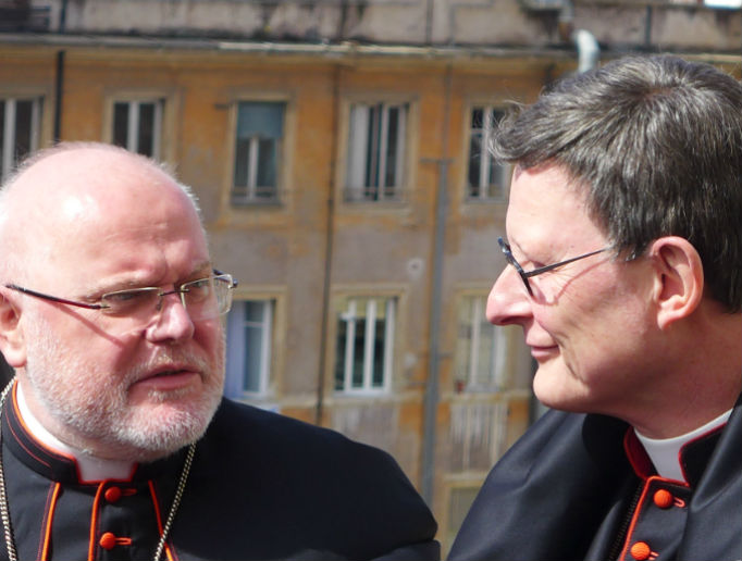 Cardinal Reinhard Marx of Munich and Freising favors intercommunion for Protestant spouses of Catholics and Cardinal Rainer Woelki of Cologne opposes it.