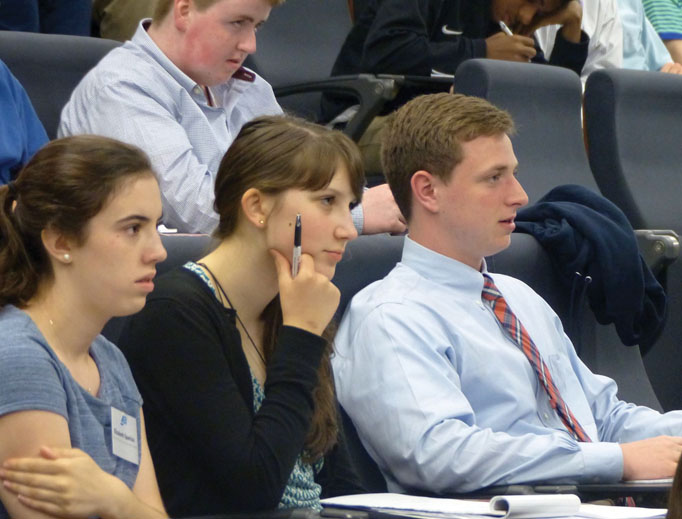 The Busch School of Business and Economics at The Catholic University of America is committed to training students in a virtue-based business background.