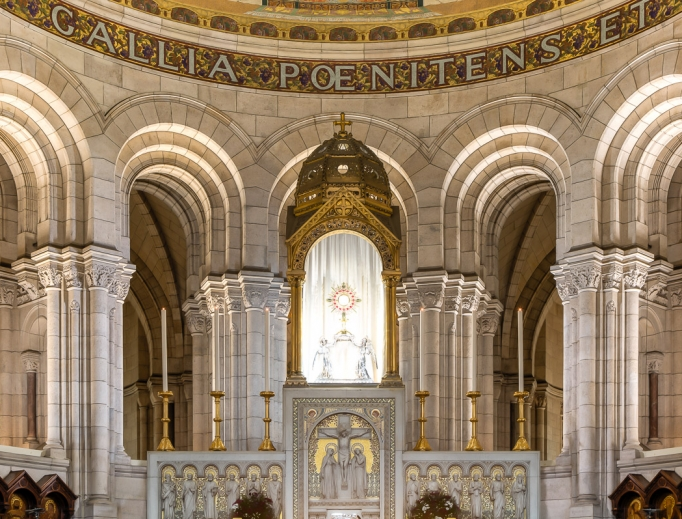 The Benedictine sisters have prayed non-stop for 135 years at the Basilique du Sacré-Cœur de Montmartre in Paris.