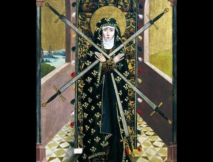 """Absolon Stumme, """"Virgin of Seven Sorrows"""", 1499"""