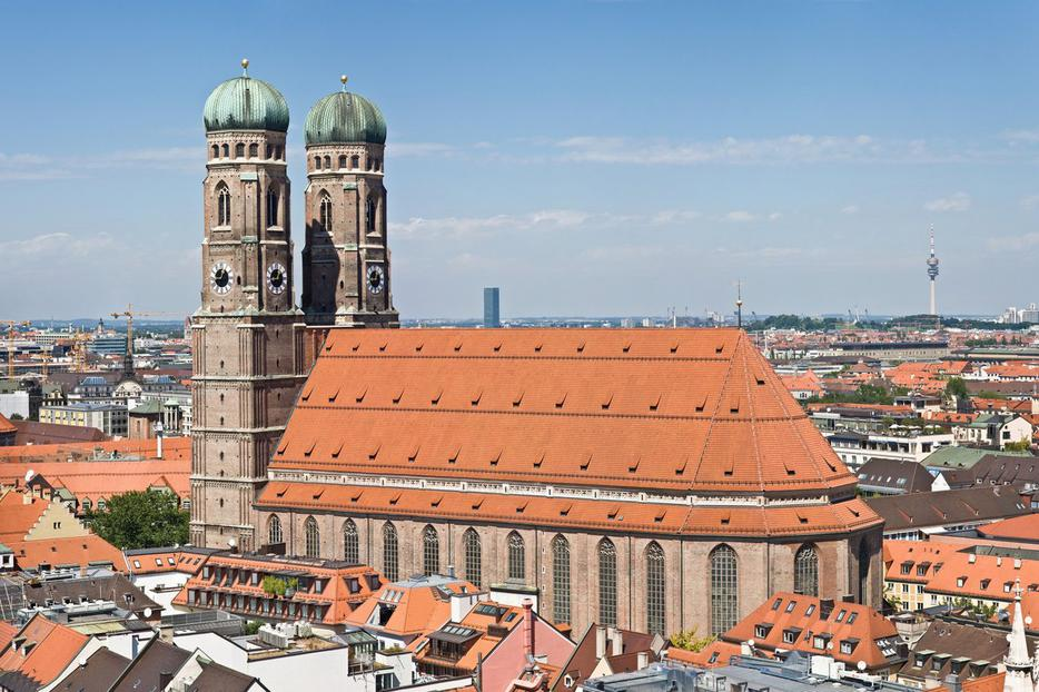 Frauenkirche Cathedral in Munich.
