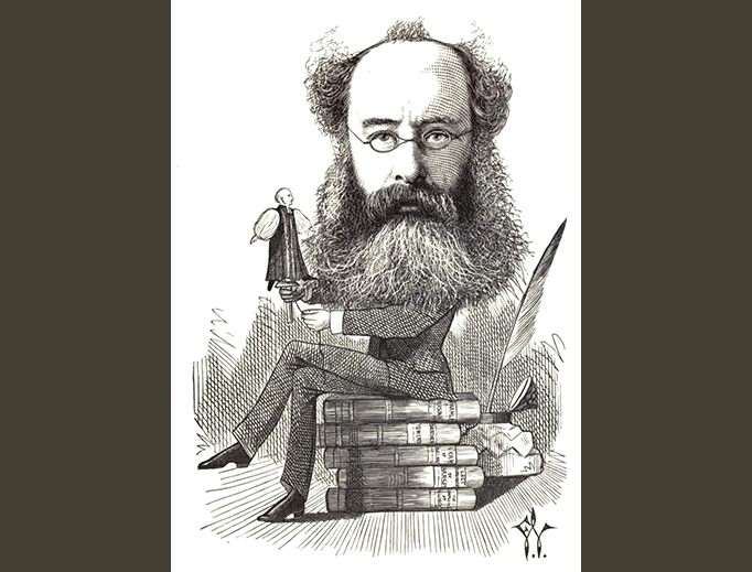 "Frederick Waddy, ""Anthony Trollope"", 1872"