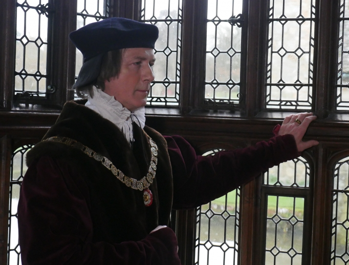 Above, St. Thomas More, portrayed by Tony Plumridge, is a prominent figure in The Reformation series.