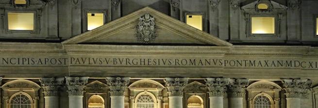 St. Peter's basilica. Photo: Edward Pentin/NCRegister.com