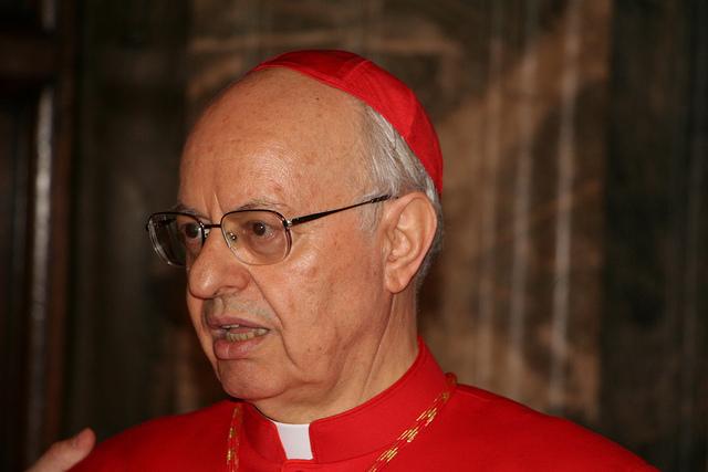 Cardinal Lorenzo Baldisseri, secretary general of the Synod of Bishops.