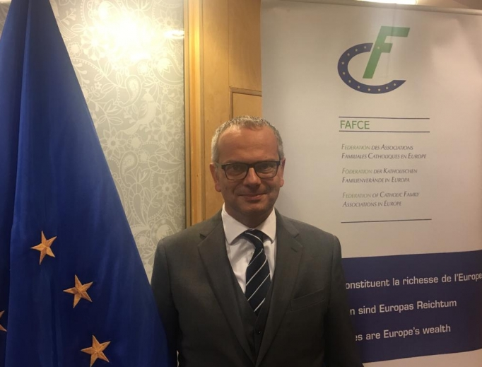 Vincenzo Bassi, the president of the Federation of Catholic Family Associations in Europe (FAFCE)