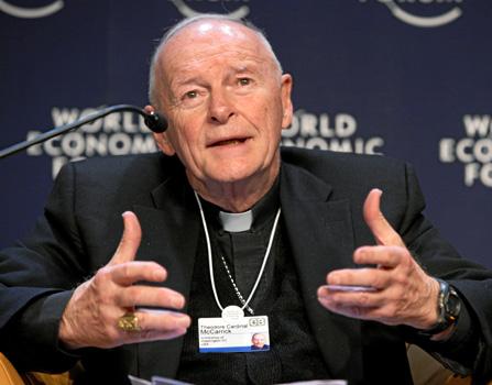 Archbishop Emeritus Theodore McCarrick