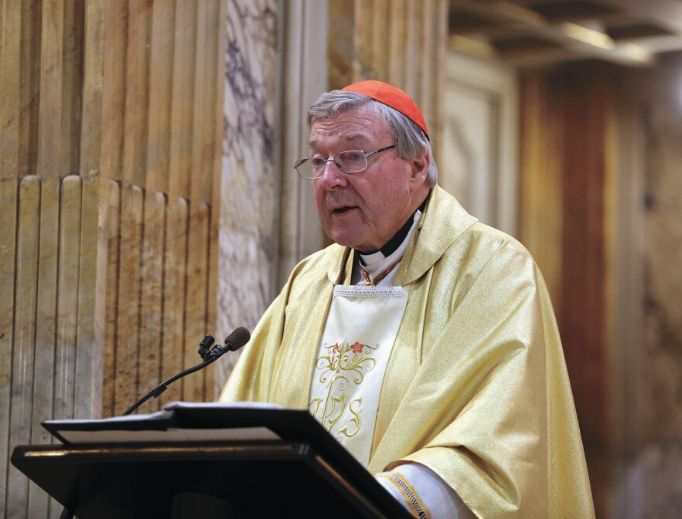 Cardinal George Pell, shown celebrating Mass in Rome in 2016, was released from prison earlier this month.