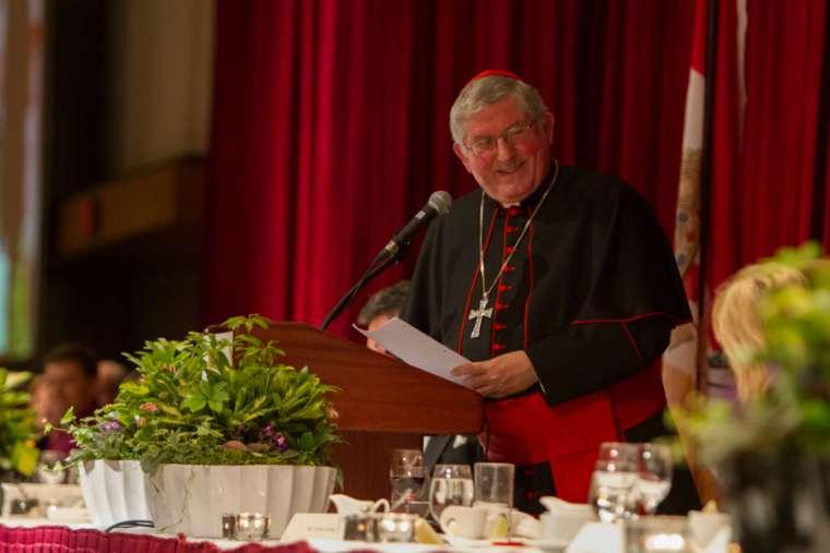 Cardinal Thomas Collins of Toronto