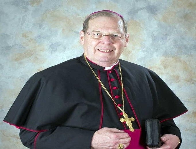 Bishop Robert Deeley of Portland, Maine who presented to the USCCB general assembly proposal for implementing Vos estis lux mundi.