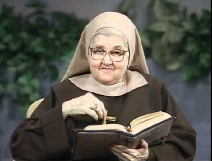 Foundress of EWTN, Mother Angelica.