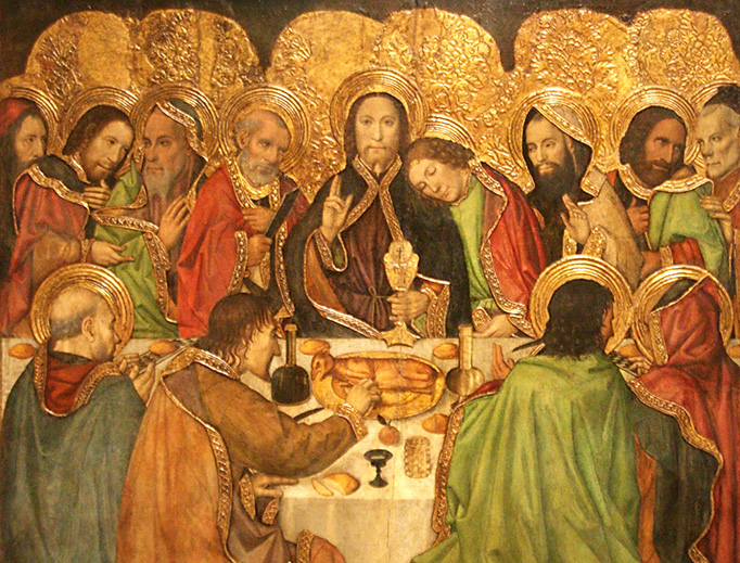 "Jaume Huguet, ""The Last Supper"", c. 1470"