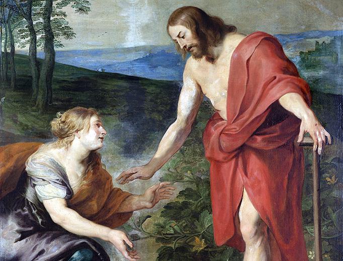 """Workshop of Peter Paul Rubens (1577-1640), """"Noli Me Tangere"""""""