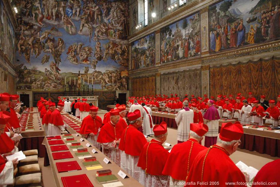 The cardinals will soon meet in the Sistine Chapel to elect a new pope. Should we pray for them?