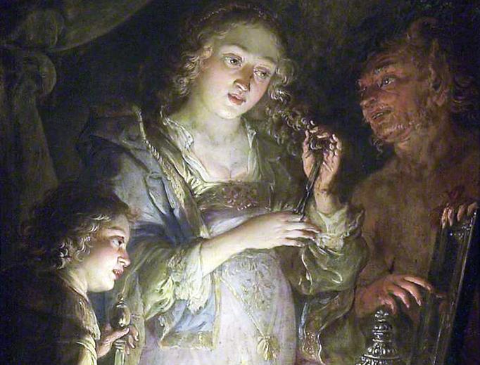 """Jacques de l'Ange, """"Pride,"""" c. 1642"""