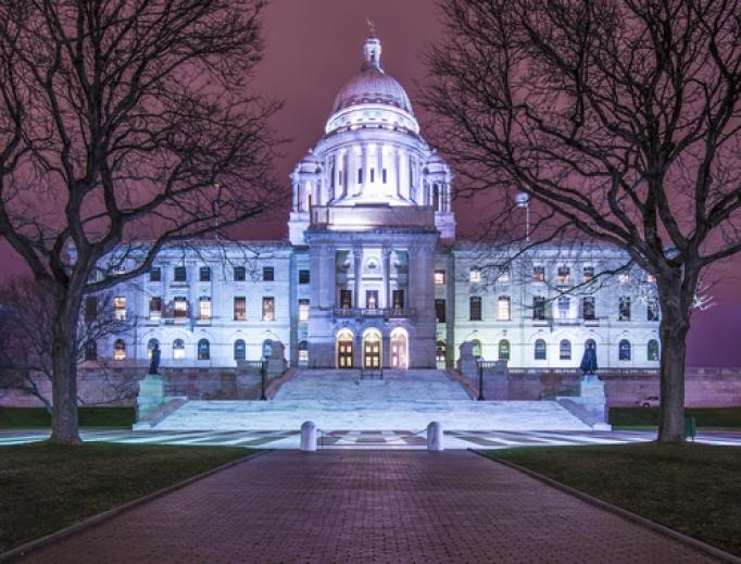 Rhode Island State House in Providence, Rhode Island,