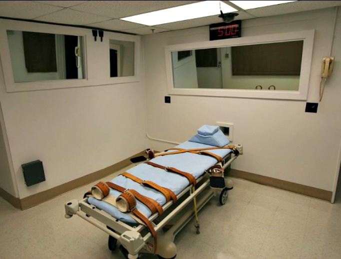 Florida Department of Corrections execution chamber 1.